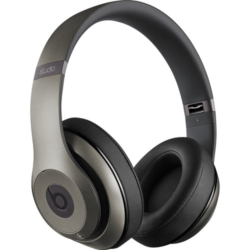 Beats by Dr. Dre Studio2 Wireless Headphones (Titanium)