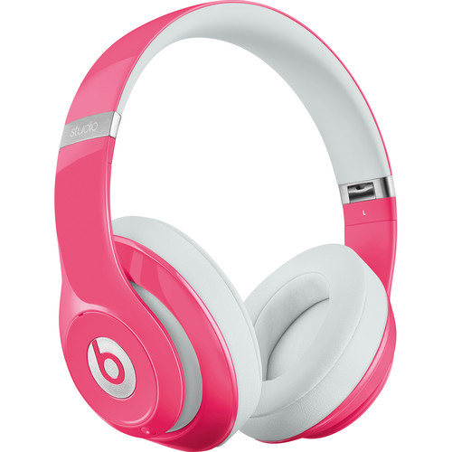 Beats by Dr. Dre Studio 2.0 Over-Ear Wired Headphones (Pink)