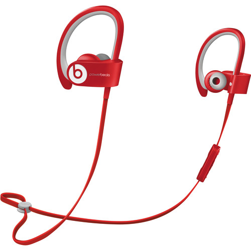 Beats by Dr. Dre Powerbeats2 Wireless Earbuds (Red)