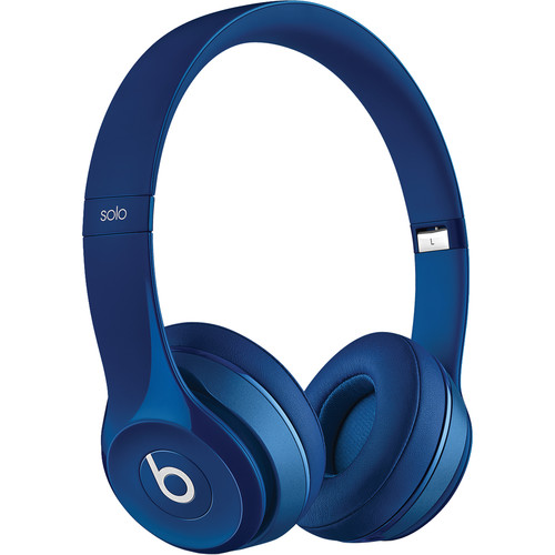 Beats by Dr. Dre Solo2 Wired On-Ear Headphones (Blue)