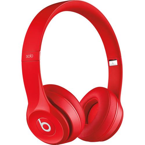 Beats by Dr. Dre Solo2 Wireless On-Ear Headphones (Red)