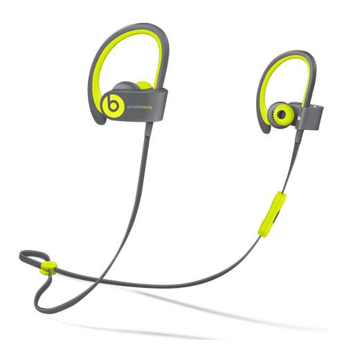 Beats by Dr. Dre Powerbeats2 Wireless Earbuds (Shock Yellow)