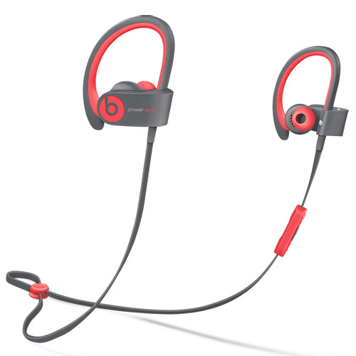 Beats by Dr. Dre Powerbeats2 Wireless Earbuds (Siren Red)
