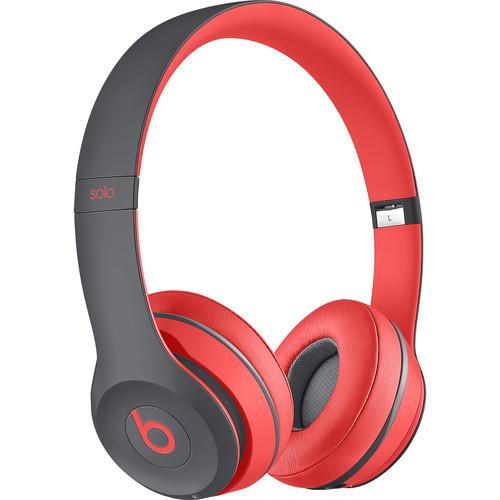Beats by Dr. Dre Solo2 Wireless On-Ear Headphones (Siren Red)