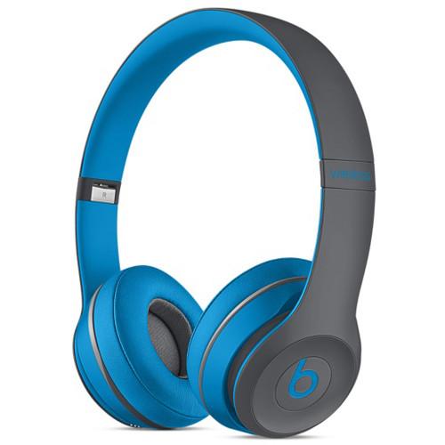 Beats by Dr. Dre Solo2 Wireless On-Ear Headphones (Flash Blue)