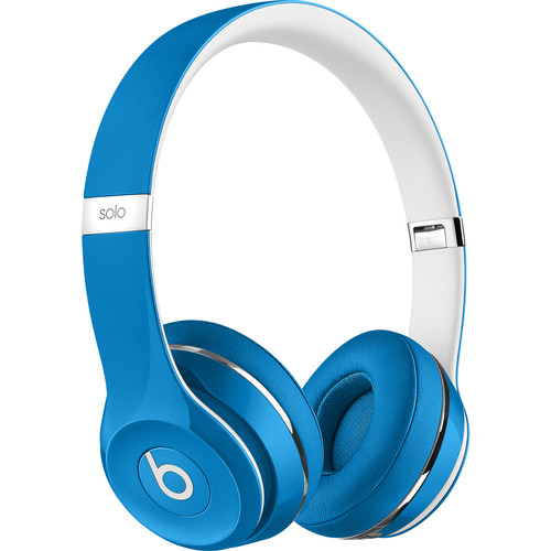 Beats by Dr. Dre Solo2 Wired On-Ear Headphones (Luxe Edition, Blue)