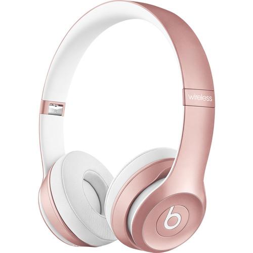 Beats by Dr. Dre Solo2 Wireless On-Ear Headphones (Rose Gold)