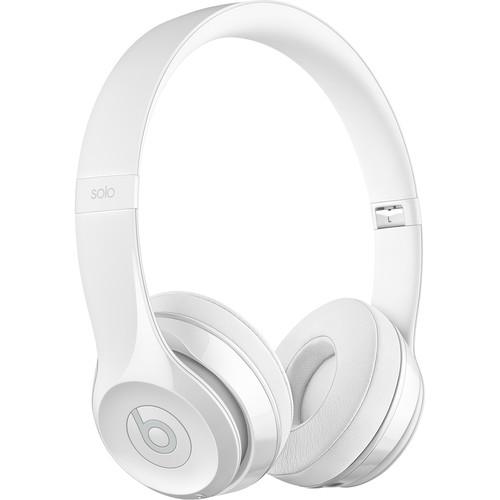Beats by Dr. Dre Beats Solo3 Wireless On-Ear Headphones (Gloss White/Core)