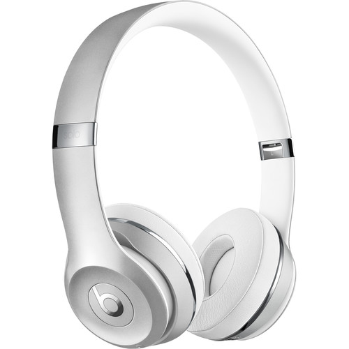 Beats by Dr. Dre Beats Solo3 Wireless On-Ear Headphones (Silver / Icon)