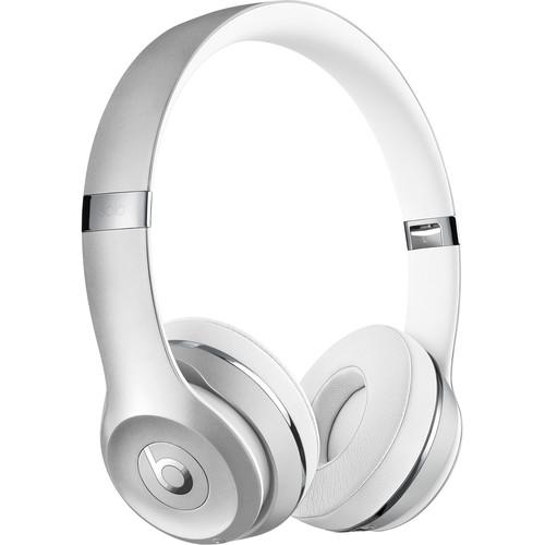 Beats by Dr. Dre Beats Solo3 Wireless On-Ear Headphones (Silver)