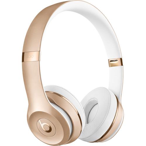 Beats by Dr. Dre Beats Solo3 Wireless On-Ear Headphones (Gold)