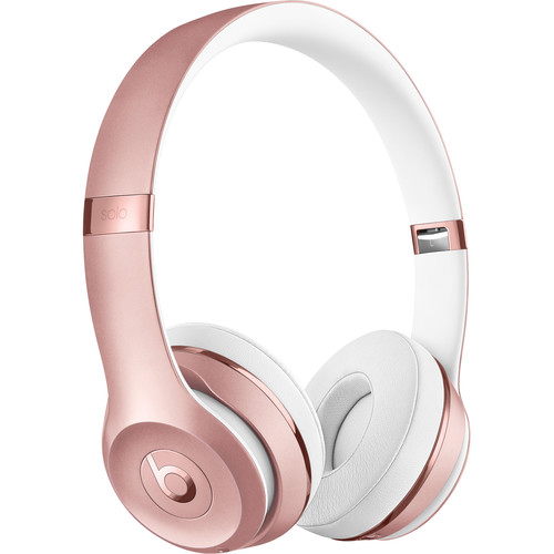 Beats by Dr. Dre Beats Solo3 Wireless On-Ear Headphones (Rose Gold / Icon)