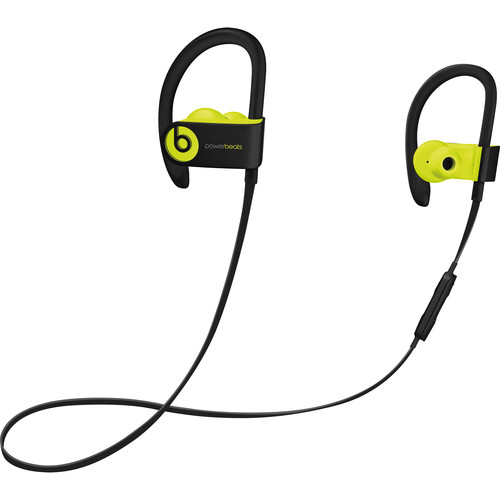Beats by Dr. Dre Powerbeats3 Wireless Earphones (Shock Yellow)
