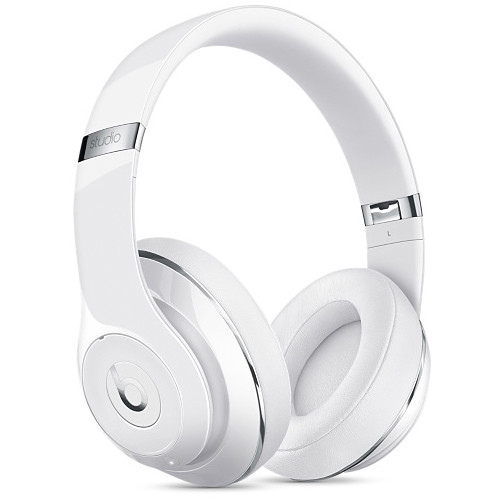 Beats by Dr. Dre Studio Wireless Headphones (Gloss White)