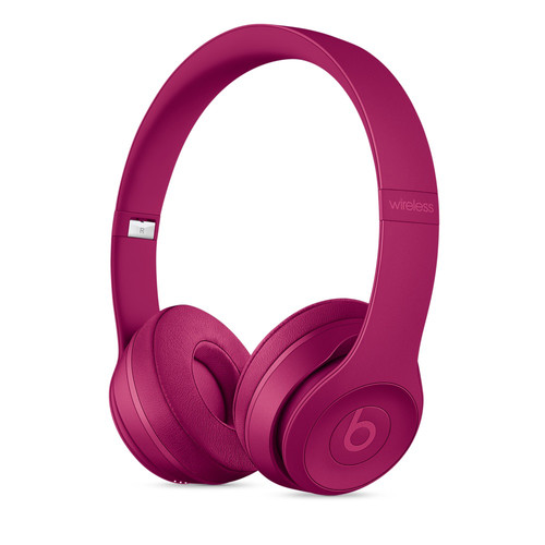 Beats by Dr. Dre Neighborhood Collection Beats Solo3 Wireless On-Ear Headphones (Brick Red)