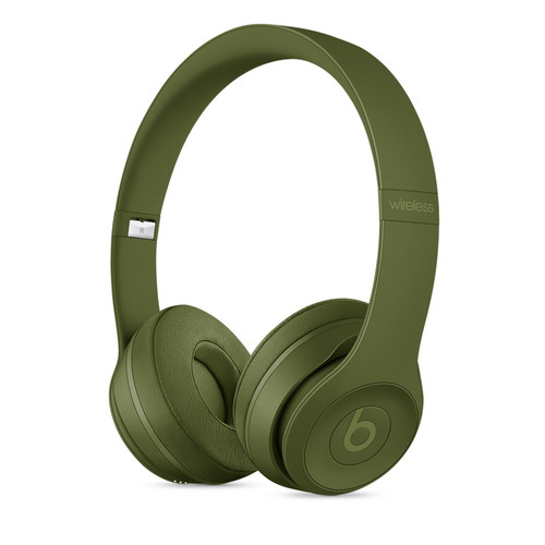 Beats by Dr. Dre Neighborhood Collection Beats Solo3 Wireless On-Ear Headphones (Turf Green)