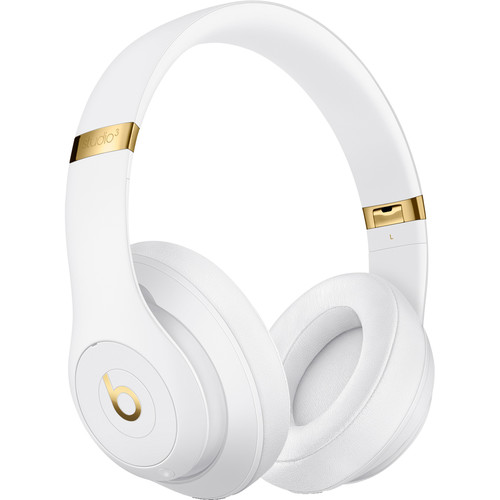 Beats by Dr. Dre Studio3 Wireless Bluetooth Headphones (White)