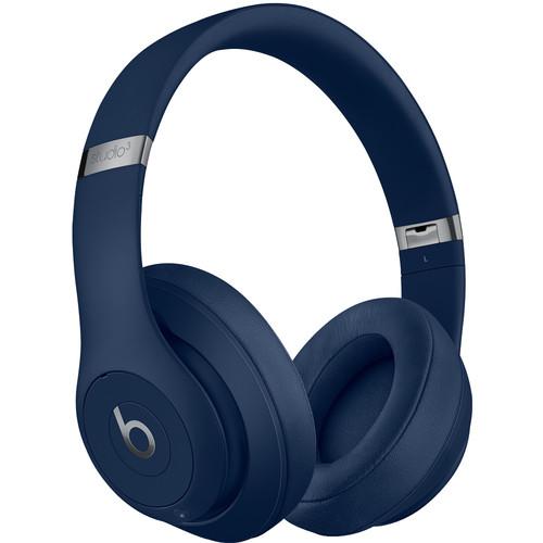 Beats by Dr. Dre Studio3 Wireless Bluetooth Headphones (Blue/Core)