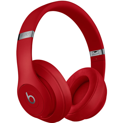 Beats by Dr. Dre Studio3 Wireless Bluetooth Headphones (Red/Core)