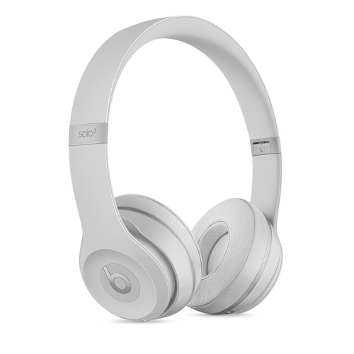 Beats by Dr. Dre Beats Solo3 Wireless On-Ear Headphones (Matte Silver)