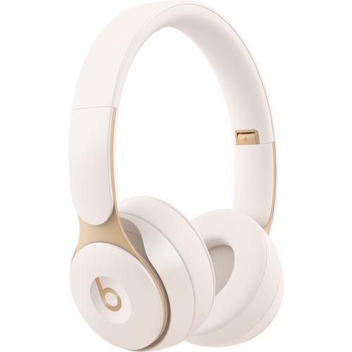 Beats by Dr. Dre Solo Pro Wireless Noise-Canceling On-Ear Headphones (Ivory)