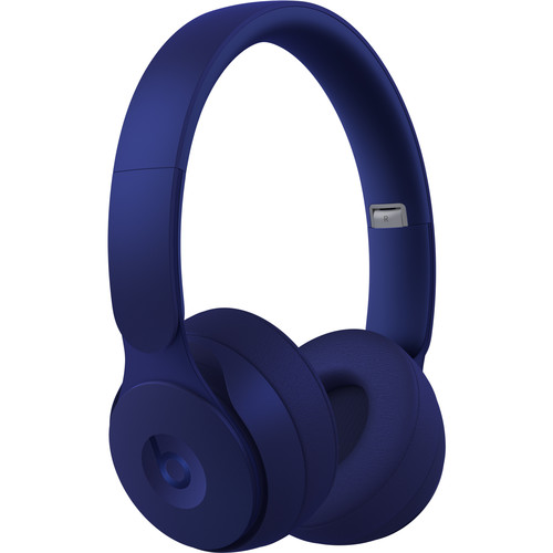 Beats by Dr. Dre Solo Pro Wireless Noise-Canceling On-Ear Headphones (Dark Blue, More Matte Collection)