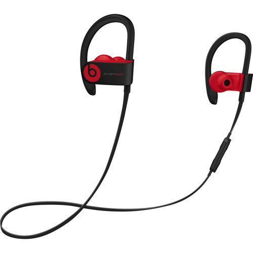 Beats by Dr. Dre Decade Collection Powerbeats3 Wireless Earphones (Black/Red)