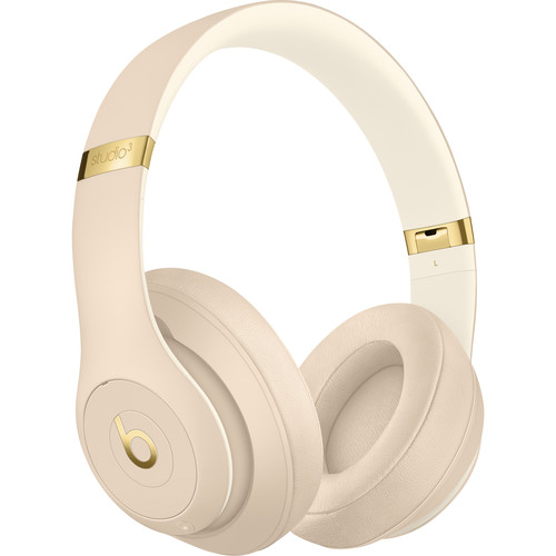 Beats by Dr. Dre Studio3 Wireless Bluetooth Headphones (Desert Sand / Skyline Collection)