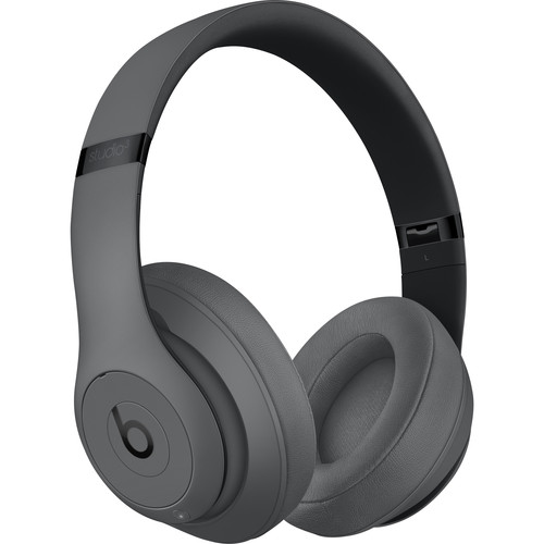 Beats by Dr. Dre Studio3 Wireless Bluetooth Headphones (Gray)