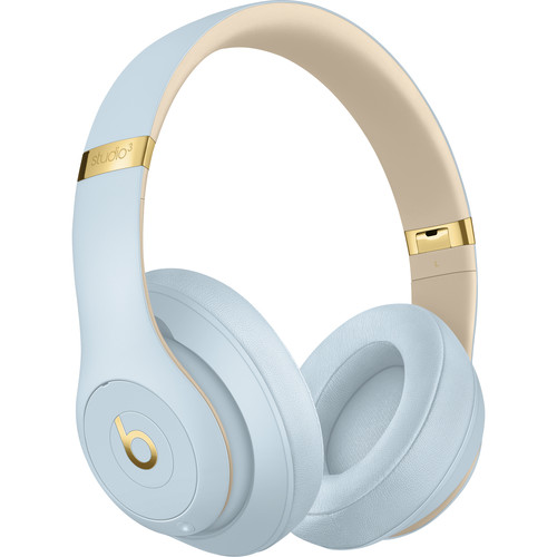 Beats by Dr. Dre Skyline Collection Studio3 Wireless Bluetooth Headphones (Crystal Blue)