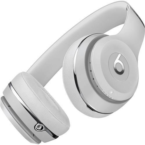 Beats by Dr. Dre Beats Solo3 Wireless On-Ear Headphones (Satin Silver/Icon)