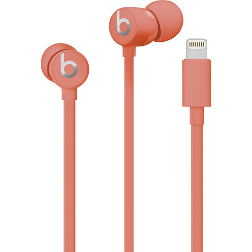Beats by Dr. Dre urBeats3 In-Ear Headphones with Lightning Connector (Coral)