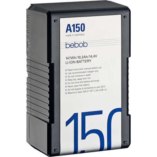 Bebob Factory GmbH A150 14.4V, 147Wh Gold Mount Li-Ion Battery