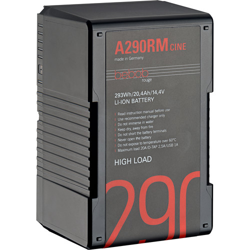 Bebob Factory GmbH A290RM-CINE 14.8V 293Wh High Load Gold Mount Li-Ion Battery