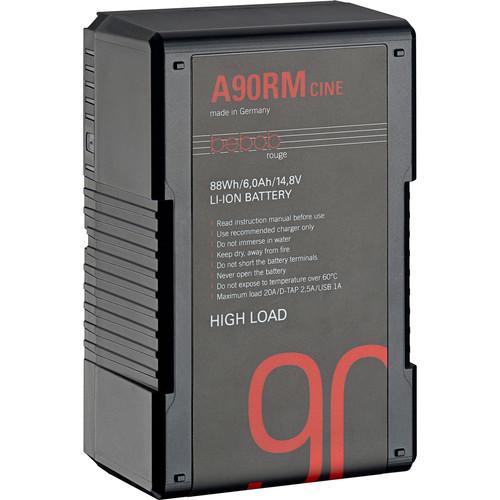 Bebob Factory GmbH A90RM-CINE 14.8V 88Wh High Load Gold Mount Li-Ion Battery