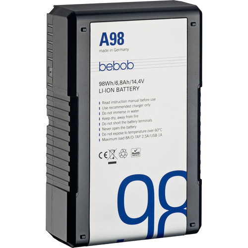 Bebob Factory GmbH A98 14.4V, 98Wh Gold Mount Li-Ion Battery