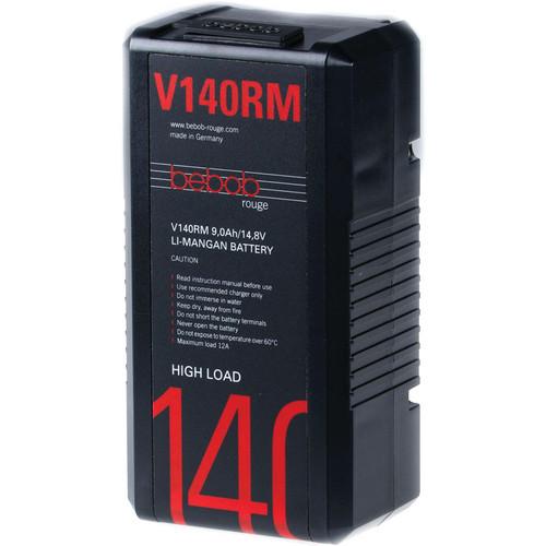 Bebob Engineering V140RM Lithium-Manganese V-Mount Battery