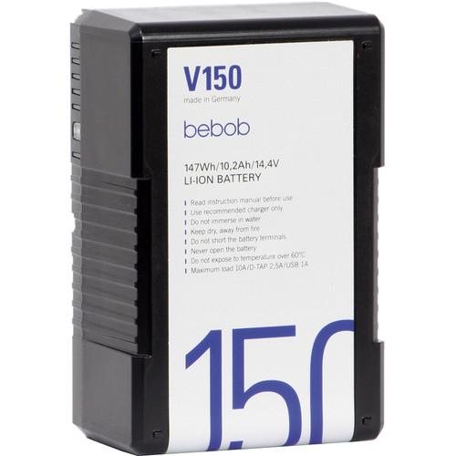 Bebob Engineering V150 V-Mount Lithium-Ion Battery