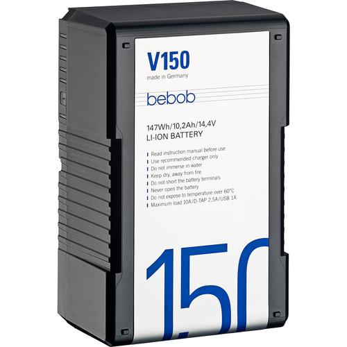 Bebob Factory GmbH V150 14.4V, 147Wh V-Mount Li-Ion Battery