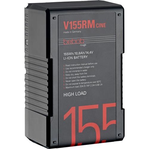 Bebob Factory GmbH V155RM-CINE 14.8V 155Wh High Load V-Mount Li-Ion Battery