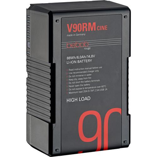 Bebob Factory GmbH V90RM-CINE 14.8V 88Wh High Load V-Mount Li-Ion Battery