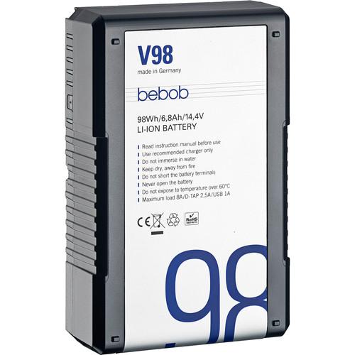 Bebob Factory GmbH V98 14.4V, 98Wh V-Mount Li-Ion Battery