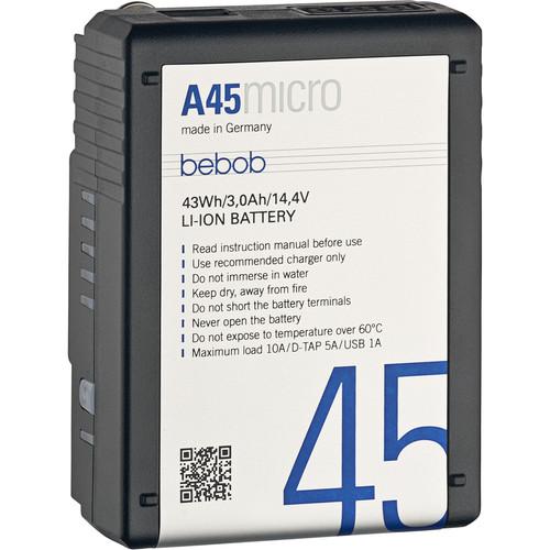Bebob Factory GmbH A45 Micro 14.4V 43Wh Gold Mount Li-Ion Battery