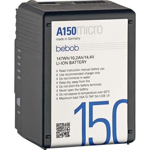 Bebob Factory GmbH A150 Micro 14.4V 147Wh Gold Mount Li-Ion Battery