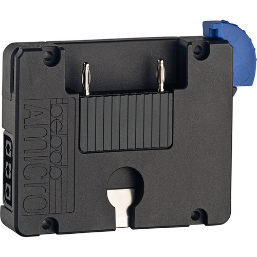 Bebob Factory GmbH Amicro Battery Plate With 2 Twist D-Tap Output