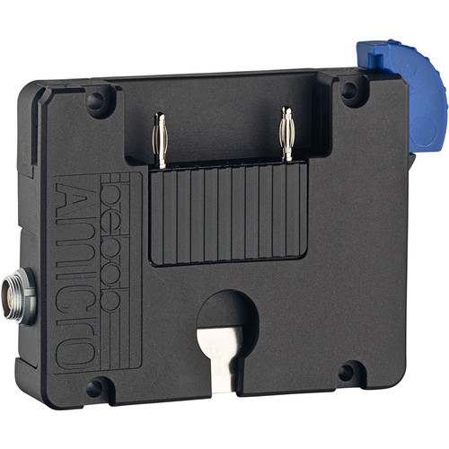 Bebob Factory GmbH Amicro Battery Plate With 1 Twist D-Tap