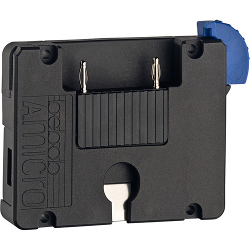bebob Amicro Battery Plate With 1 Twist D-Tap And 1 USB (A) Output