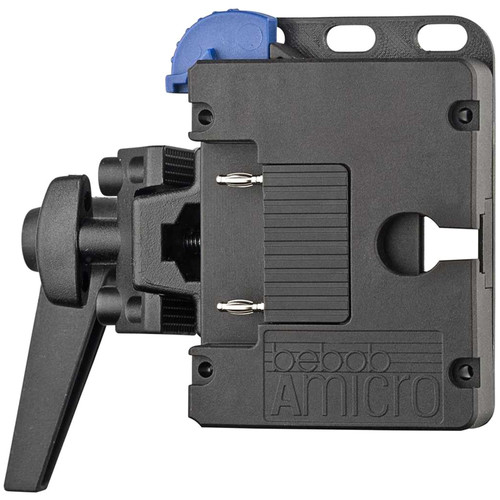 Bebob Factory GmbH Amicro Battery Plate With Crocodile Clamp