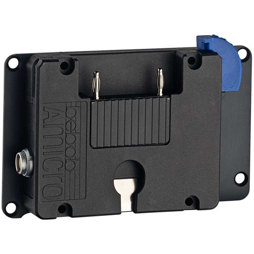 bebob A-Micro Battery Plate for TVLogic 58W, F-7H, and F-7H MkII