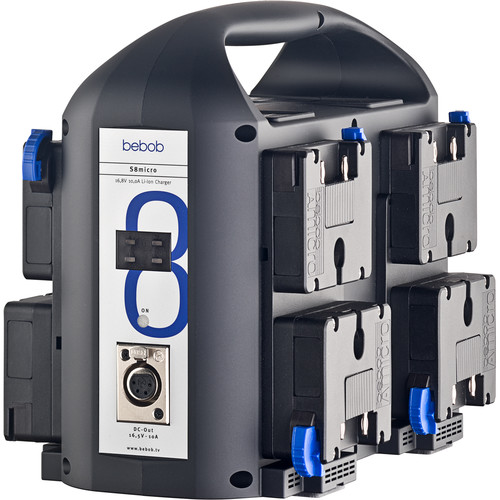 bebob 8-Channel Amicro Charger With 165W Dc-Out